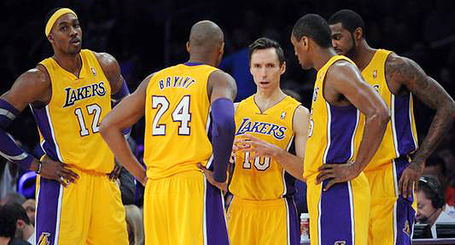 lakers 2013 team